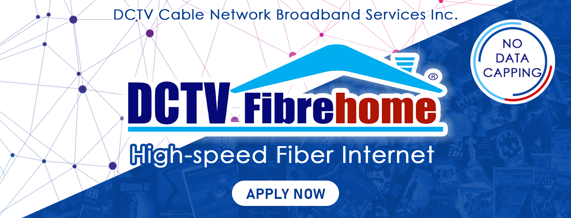 No capping fiber optic connectivity - FIber to the Home